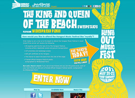 Hangout Festival Sweepstakes